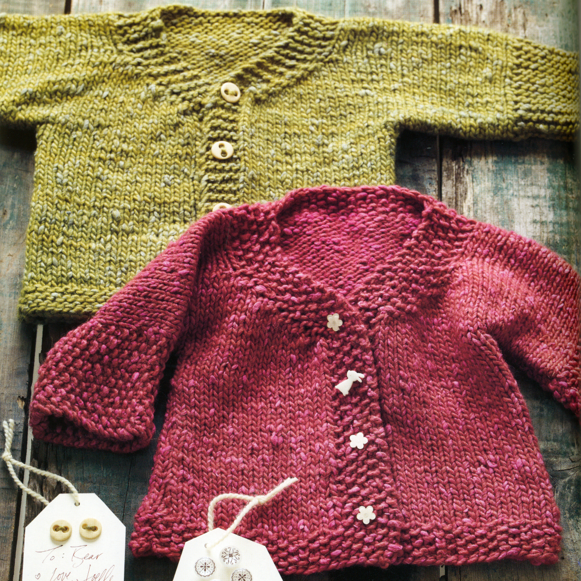 Easy Cardigan Knitting Pattern : WEBS Yarn Store Blog   More Last-Minute Knitted Gifts Review