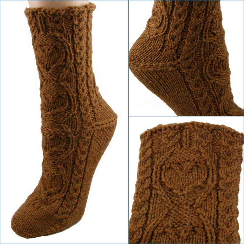 WEBS Yarn Store Blog » Free Pattern Thursday – Sweetheart Socks from ...