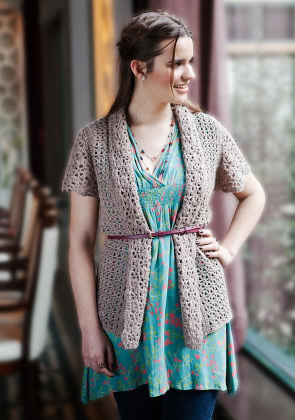 Free Crochet Patterns Summer Sweaters : WEBS Yarn Store Blog Free Pattern Thursday: Delicata ...
