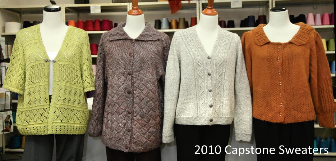 2010 Capstone Sweaters