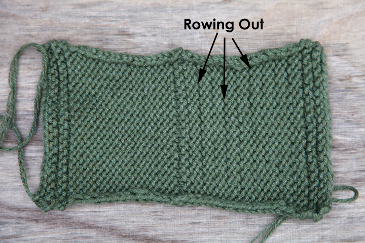WEBS Yarn Store Blog   Tuesday s Tip   Rowing Out