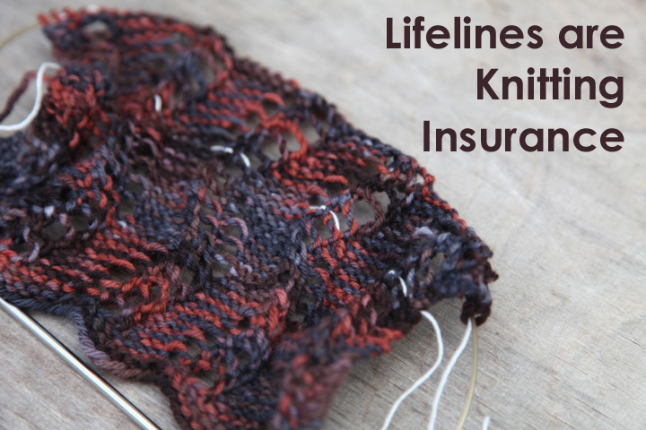 Knitting Lifelines In Lace : Webs yarn store � tuesday s knitting tip how to use