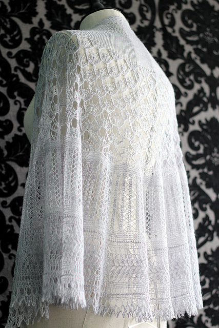 Knitting Patterns For Lace Yarn : WEBS Yarn Store Blog   lace knitting