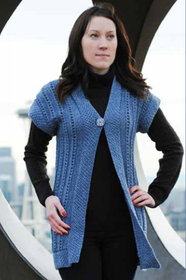 Free Crochet Patterns For Kimono Sweater : WEBS Yarn Store Blog Free Pattern Thursday: Horizontal ...