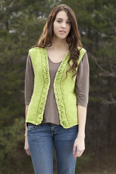Webs Yarn Store Blog Free Pattern Thursday Spring Leaves Vest In