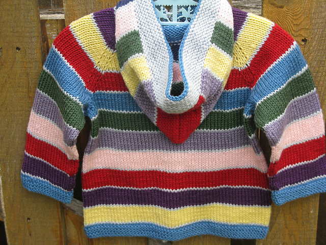 Free Knitting Patterns Baby Striped Cardigan : WEBS Yarn Store Blog   Valley Yarns on Ravelry