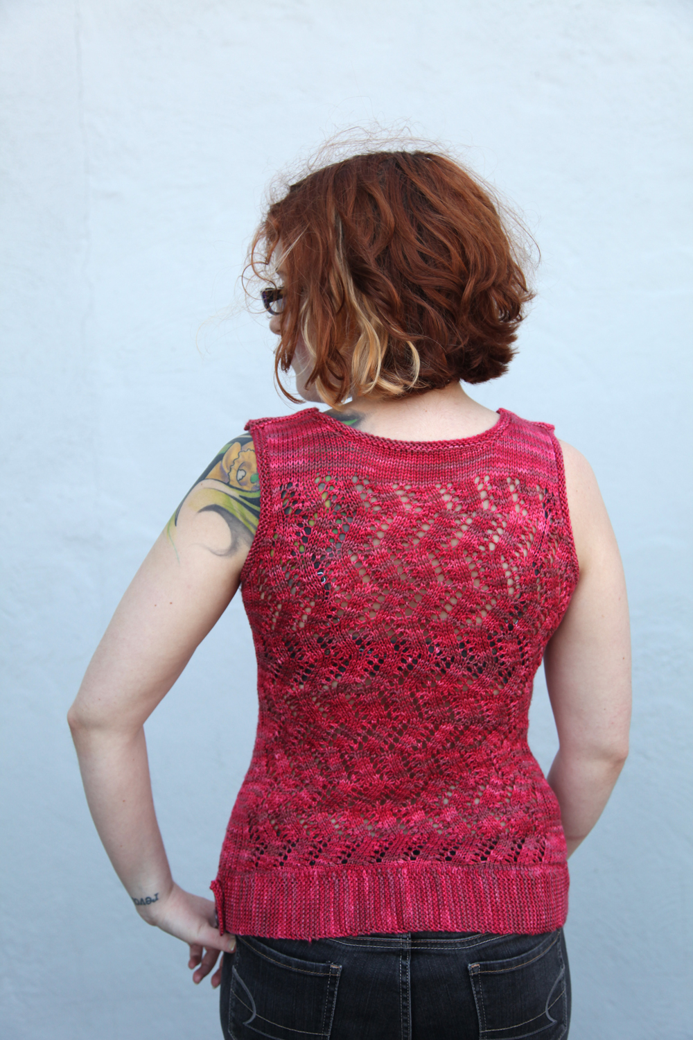 Converting Knitting Pattern To In The Round : WEBS Yarn Store Blog   Tuesday s Knitting Tip   Converting your Flat Pattern ...
