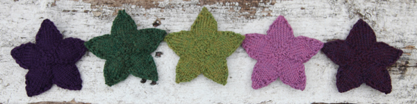 FREE PATTERN: Valley Yarns Knit Stars