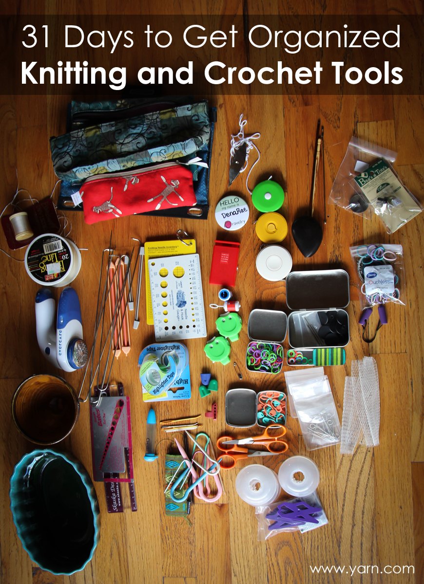 Knitting And Crocheting Tools : Webs yarn store days to get organized