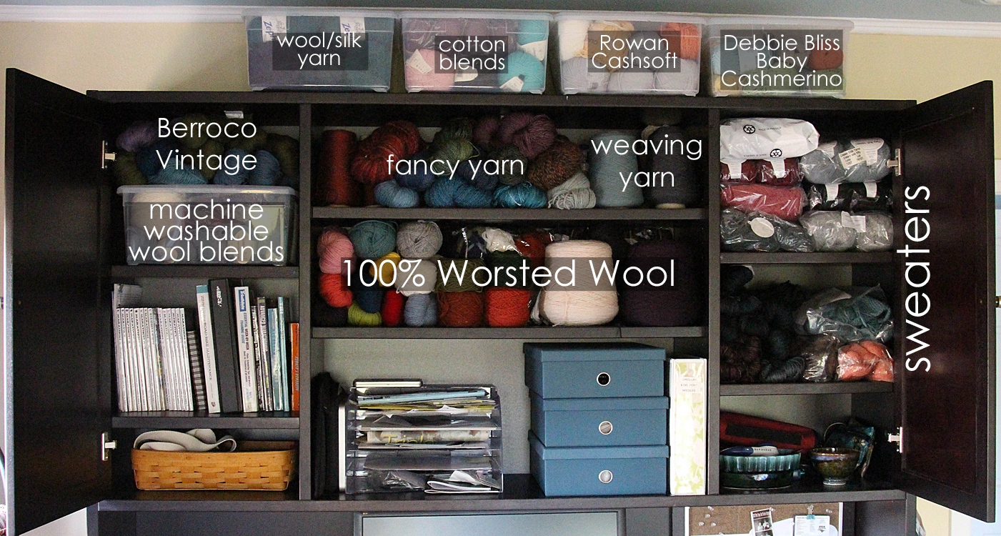 WEBS Yarn Store Blog 31 Days to Get Organized How to Organize