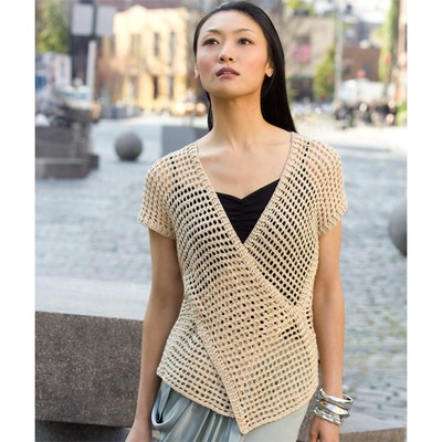 Free Crochet Cotton Vest Pattern : WEBS Yarn Store Blog Crochet Trends in June