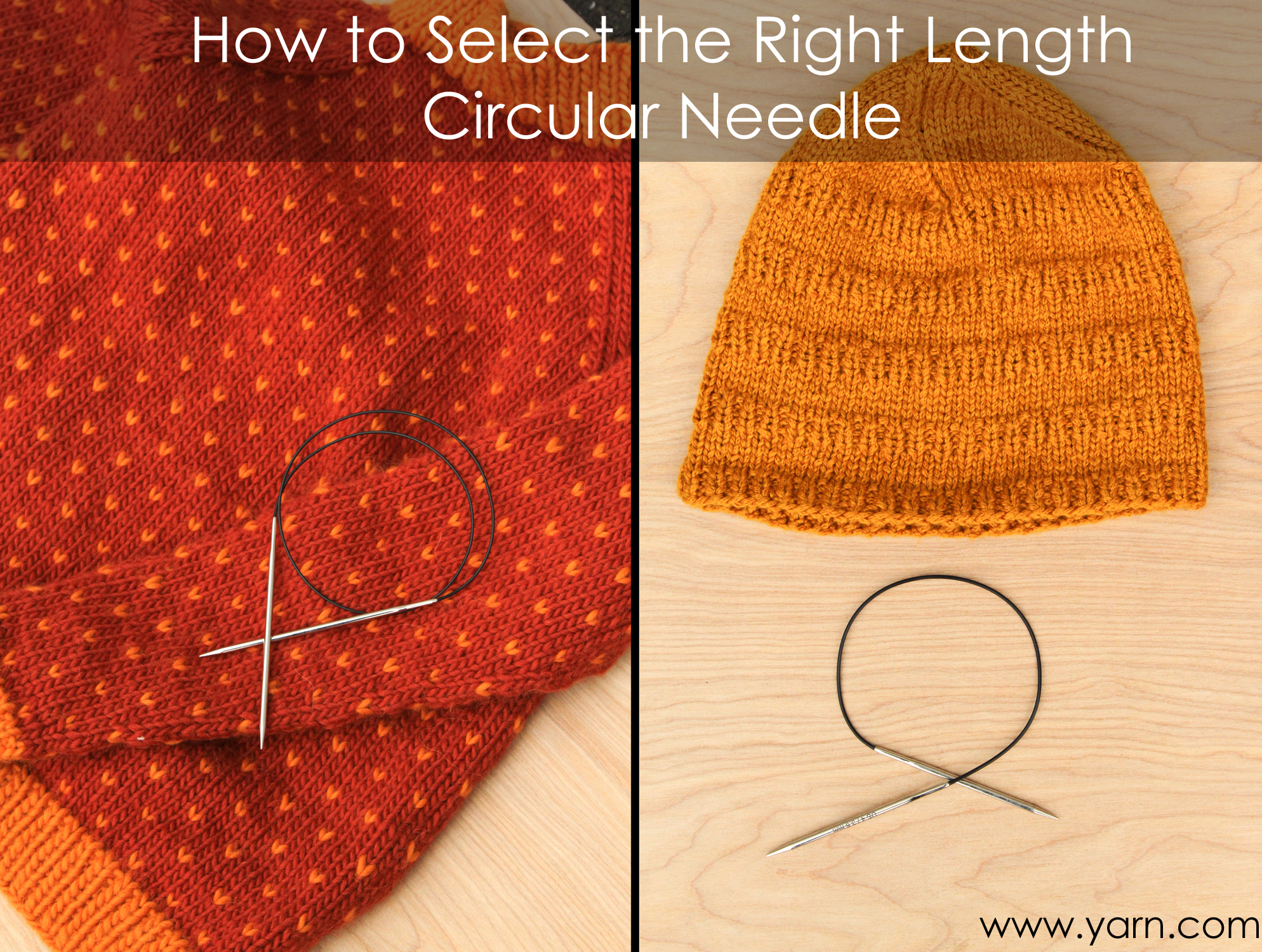 How to Select the Right Length Circular Needle