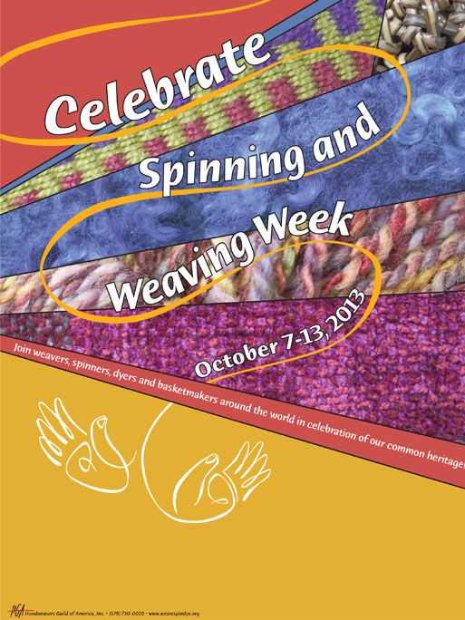 Spinning and Weaving Week