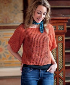 Lorelei Pullover, copyright Interweave