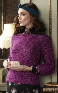 Lace Pullover, copyright Vogue Knitting