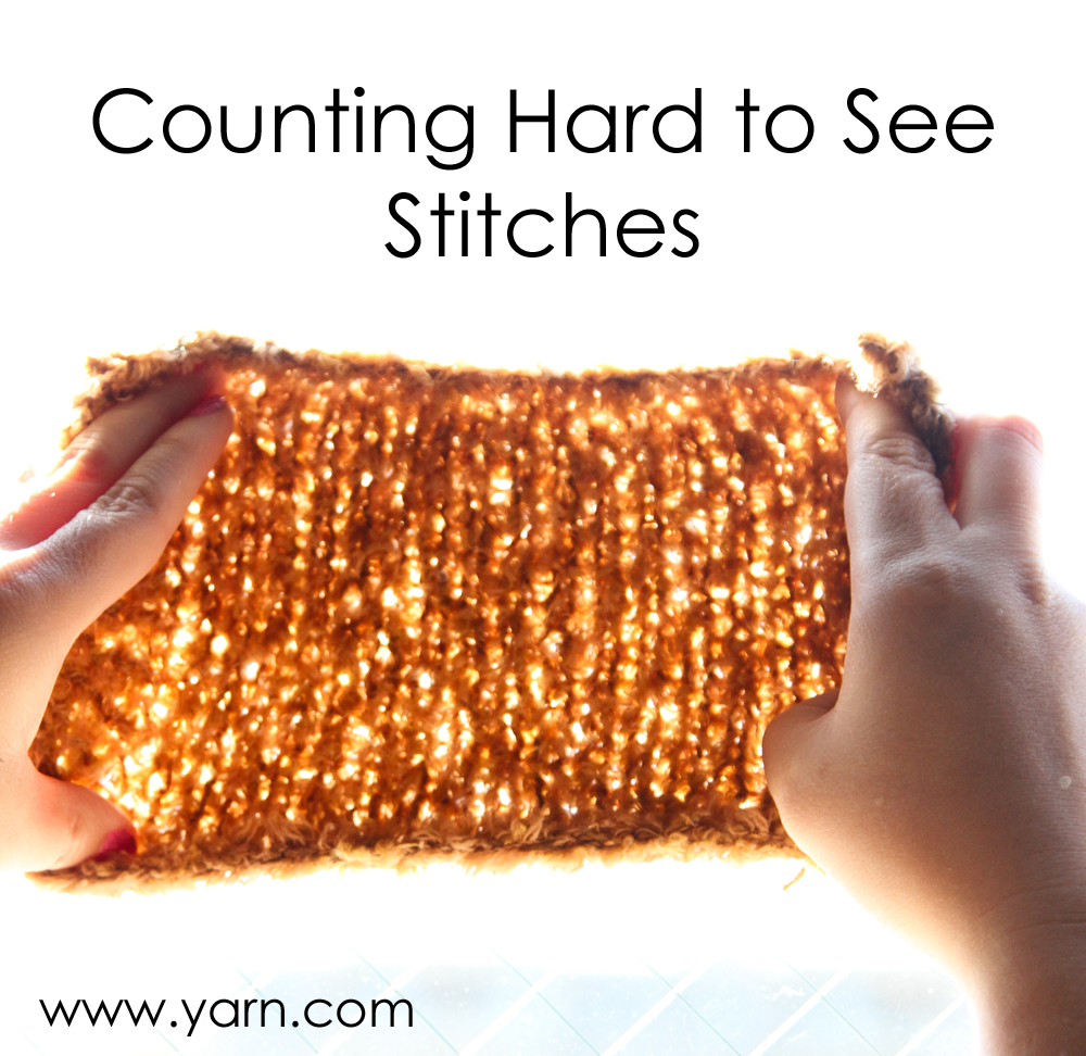 Crocheting Is Hard : Tuesday?s Tip - How to Count Hard to See Stitches