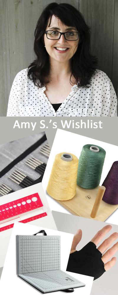 amys wishlist