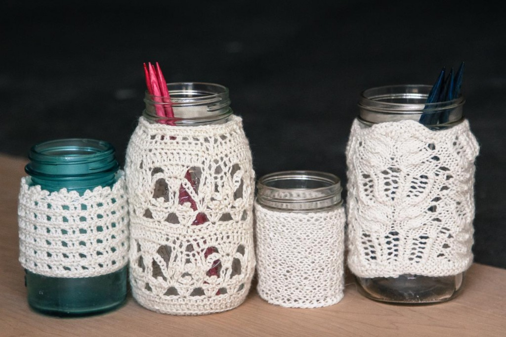 Webs Yarn Store Blog Great Ideas For Our Valley Lace Jar Covers