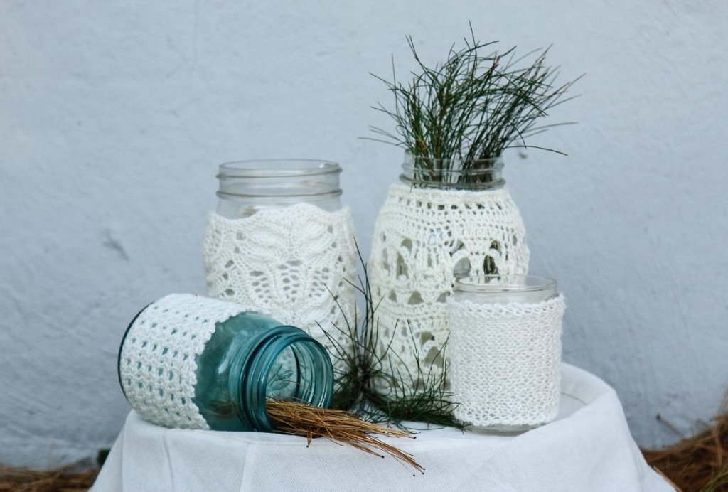 WEBS Yarn Store Blog » Great ideas for our Valley Lace Jar Covers