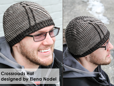 Crossroads Hat designed be Elena Nodel