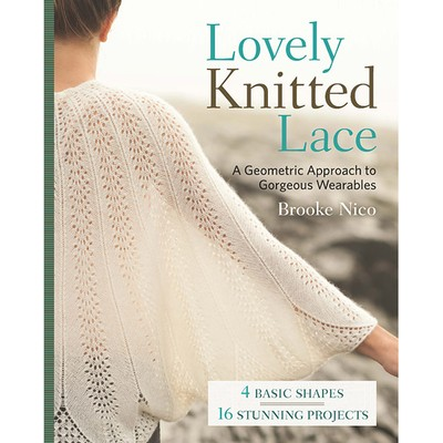 Lovely Knitted Lace by Brooke Nico - available at yarn.com
