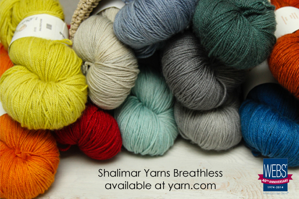 Shalimar Yarns Breathless - available at yarn.com