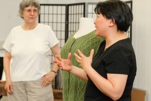 Ping, Barbara's mentor, describes her design.