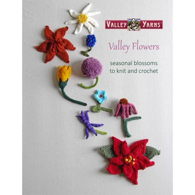 Valley Flowers e-Book - available exclusively at yarn.com
