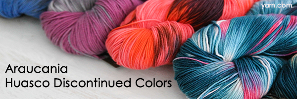 Araucania Huasco Discontinued Colors at yarn.com