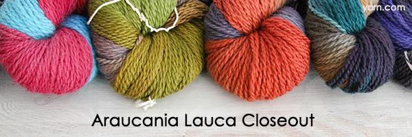 Araucania Lauca Closeouts at yarn.com