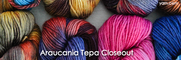 Araucania Tepa Closeout at yarn.com