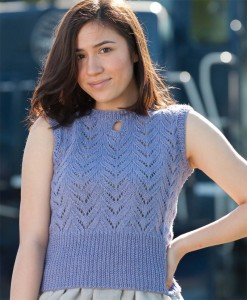 Doodlebug, a light and practical summer sweater.