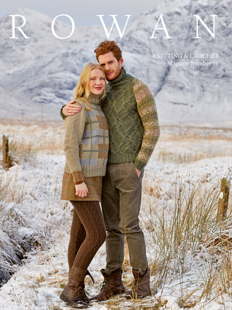 Rowan Knitting and Crochet Magazine 56 - available at yarn.com