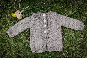 fast and adorable superwash bulky cremini baby sweater