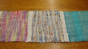 rigid heddle weaving knitting yarns