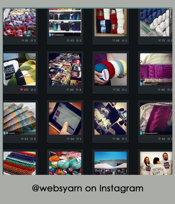 Follow @websyarn on Instagram