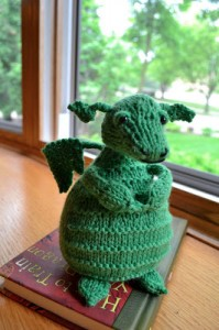 Sock Yarn dragon fun!