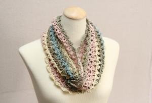 silky lace and tunisian stitch