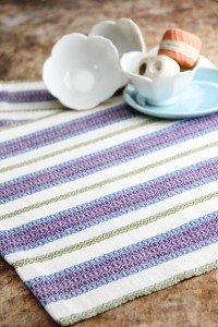 beautiful colorful woven twill towels