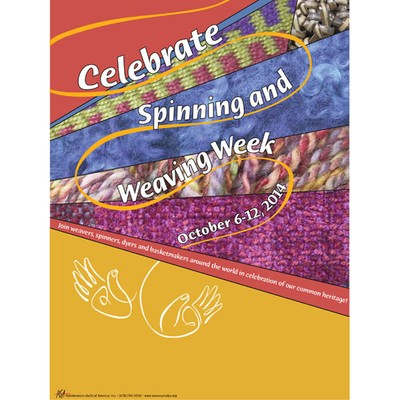 Spinning and Weaving Week events at yarn.com