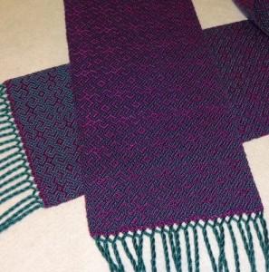 beautiful woven tencel scarf