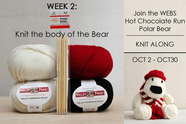 Polar Bear KAL on the WEBS Blog - blog.yarn.com