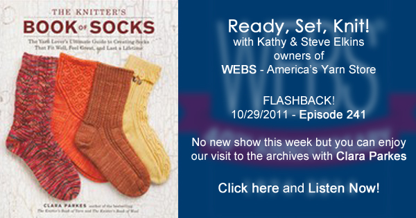 Ready, Set, Knit! November 1, 2014 - Flashback to an interview with Clara Parkes from Oct of 2011