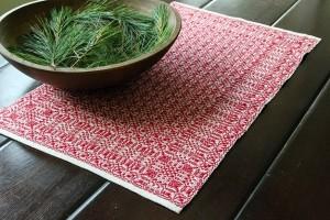 Celebration Runner weaving draft available at yarn.com