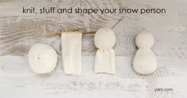 #SnowFamilyKAL Week 2 - join in at yarn.com