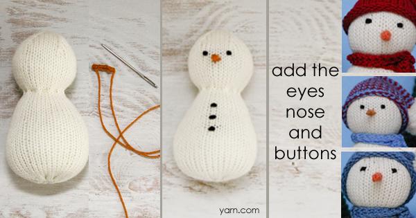 #SnowFamilyKAL Week 2 - join in at yarn.com