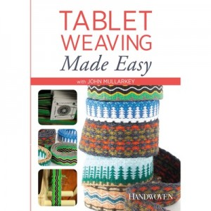 Tablet Weaving Made Easy DVD with John Mullarkey - available at yarn.com