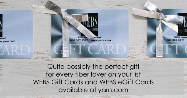WEBS Gift Cards and eGift Cards available at yarn.com