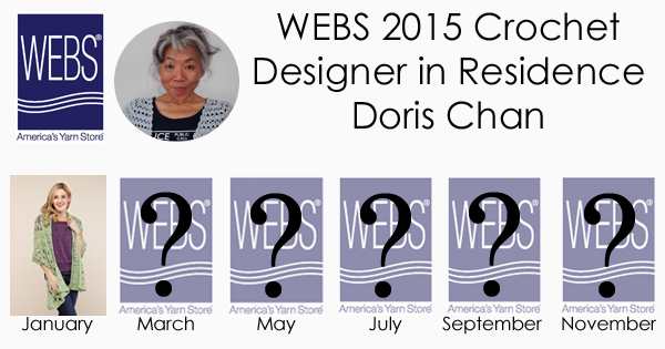 Doris Chan WEBS 2015 Crochet Designer in Residence - learn more at blog.yarn.com