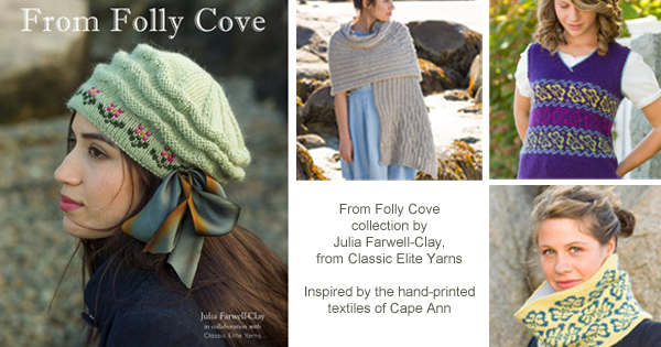 From Folly Cove collection by Julia Farwell Clay from Classic Elite Yarns - Available at yarn.com